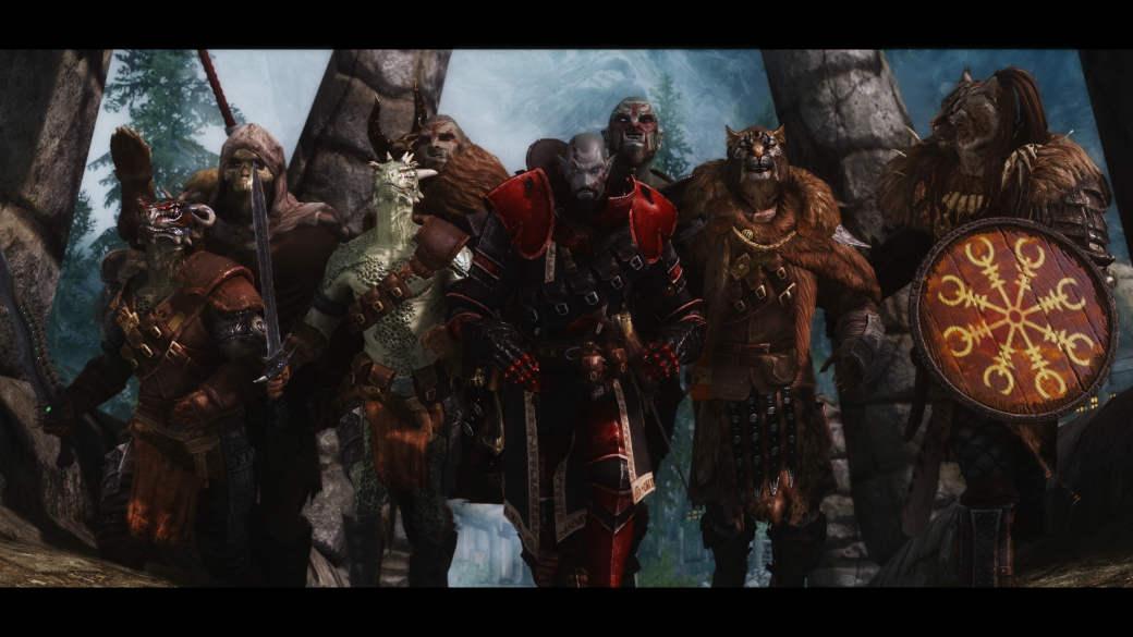 Скайрим мод immersive armor