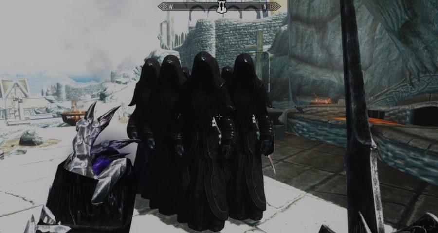 Рыцарь смерти раса для skyrim скачать.