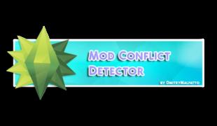 Мод конфликт детектор для симс 4