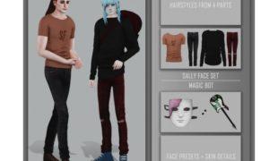 Моды для симс 4: Салли Фейс