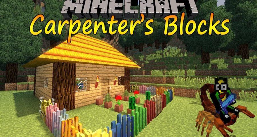 Майнкрафт мод carpenter s blocks
