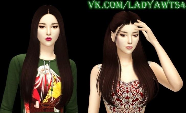 Моды для Симс 4 на внешность корейцев