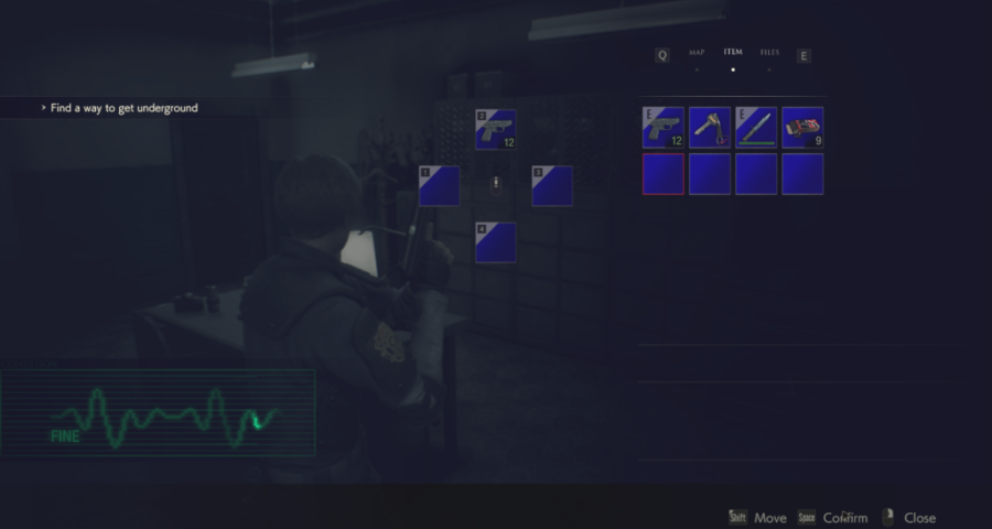 Скачать мод на классический интерфейс Resident Evil 2: Remake