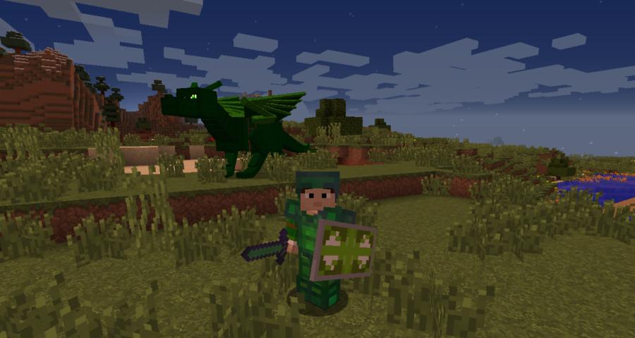 Скачать мод на майнкрафт на драконов