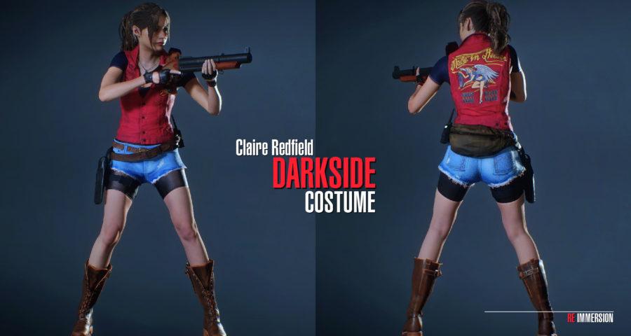 Скачать мод наряд для Клэр из хроник Темной стороны Resident Evil 2: Remake