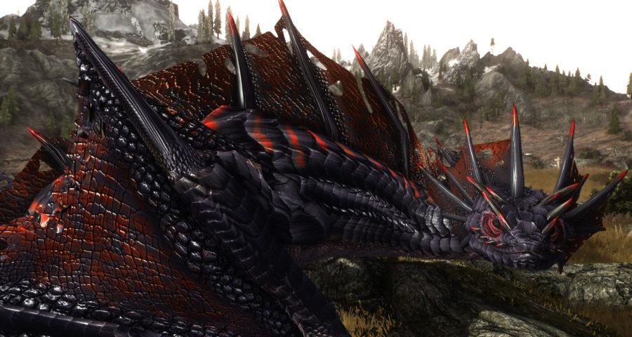 Скайрим мод на броню повелителя драконов