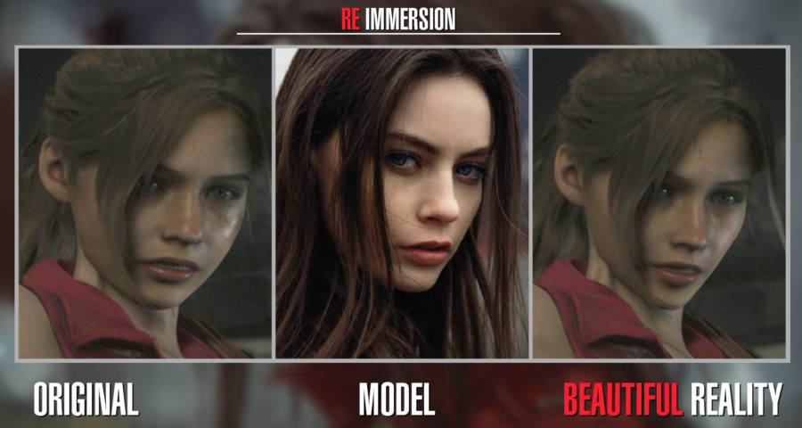 Скачать мод на реалистичную внешность Клэр Редфилд, Resident Evil 2: Remake