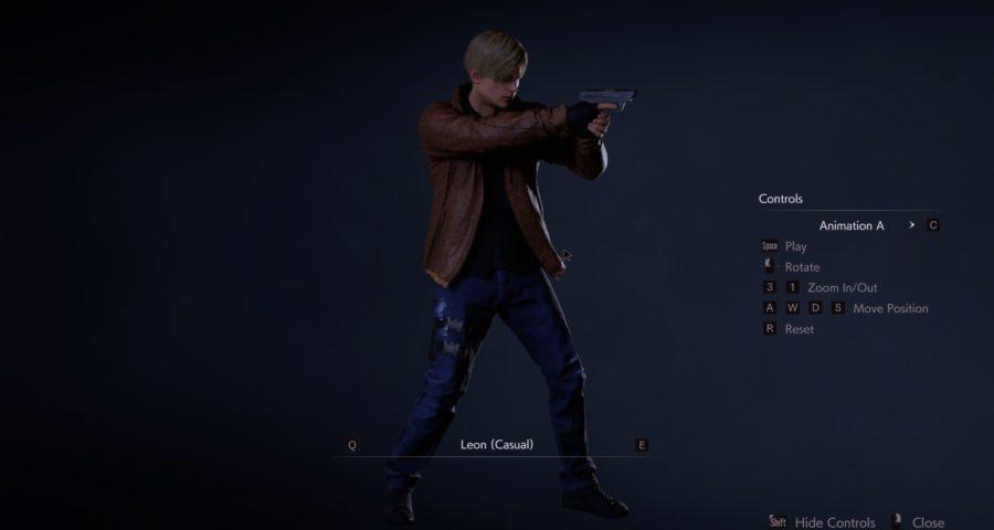 Скачать мод редизайн одежды Леона в стиле Resident Evil 4, Resident Evil 2: Remake