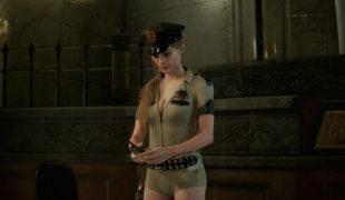 """Скачать мод военный наряд """"Claire Sexy Sheriff (no Hat version)"""" для Клэр, Resident Evil 2: Remake"""
