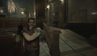 Скачать мод Замена Леона на Барри Бертона, Resident Evil 2: Remake