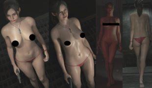 """Мод на Resident Evil 2: Remake """"Nude-мод на Клэр"""" + 30 нарядов (18+)"""