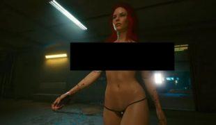 Мод на Cyberpunk 2077: «Новые текстуры тела Ви» (18+)