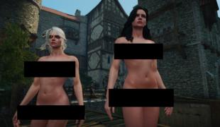 Ведьмак 3: «Nude-Мод для обнаженных тел» (18+)