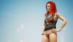 Мод на Cyberpunk 2077: «Сексуальные женские трусики»