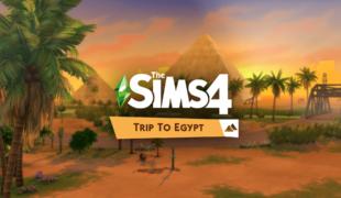 Мод для Симс 4: поездка в Египет