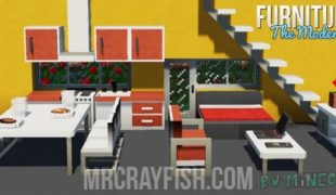 Скачать мод furniture для майнкрафт 1.16 5