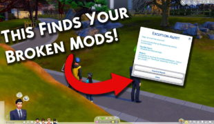 The Sims 4 мод: Better Exceptions v2.03