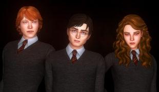Мод для Симс 4: Гарри Поттер