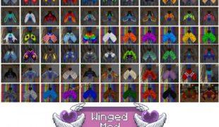 Мод на крылья в майнкрафт 1.16 5