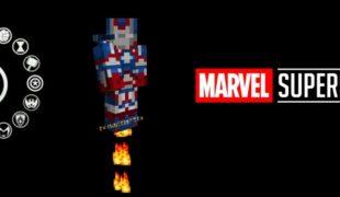 Мод на супергероев в майнкрафт 1.16 5