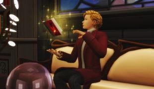 Мод для Симс 4: чародеи могут читать любые книги
