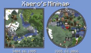 Мод на мини карту майнкрафт 1.16 5