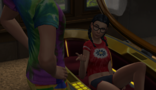 The Sims 4 мод: Anarcis Animations для WickedWhims