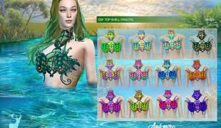 Мод для Симс 4: купальник из ракушек