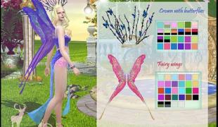 Мод для Симс 4: крылышки феи