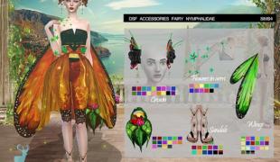 Мод для Симс 4: аксессуары для феи