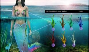 Мод для Симс 4: водоросли