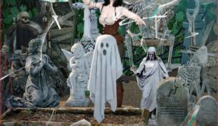 Мод для Симс 4: статуи Кровавых Ночей