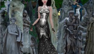 Мод для Симс 4: статуи