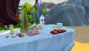 Мод для Симс 4: реализм готовки