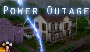 Мод для Симс 4: отключения электричества