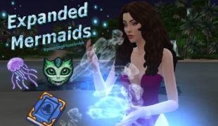 The Sims 4 мод: Русалки ( Expanded Mermaids )