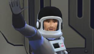 Мод для Симс 4: удаленная работа - космонавт
