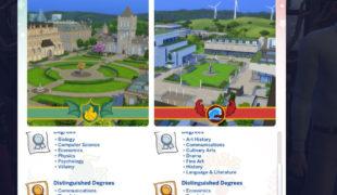 Мод для Симс 4: подростки могут учиться в университете