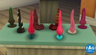 Мод для Симс 4: игрушки 18+