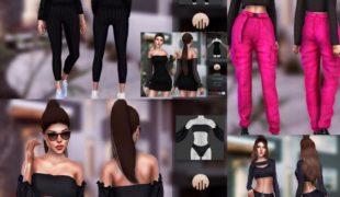 Мод для Симс 4: подборка женской одежды