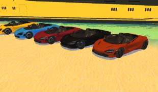 Мод для Симс 4: машины McLaren