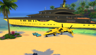 Мод для Симс 4: яхта