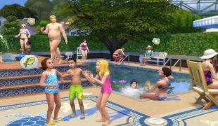 Мод для Симс 4: вечеринка у бассейна