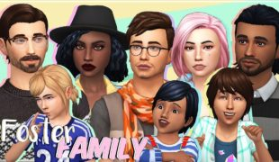 Мод для Симс 4: приемная семья