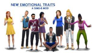 Мод для Симс 4: эмоциональные черты характера