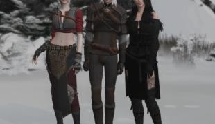 Мод для Симс 4: подборка Ведьмак III