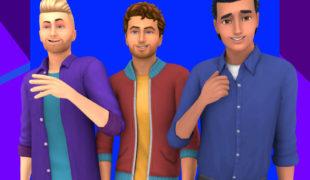 Мод для Симс 4: подборка мужской одежды