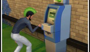 Мод для Симс 4: банкоматы и кредитные карты