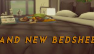 Мод для Симс 4: новое постельное белье