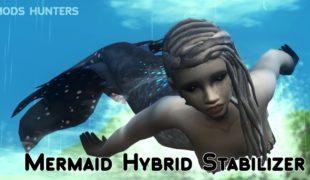 Мод для Симс 4: русалка-гибрид